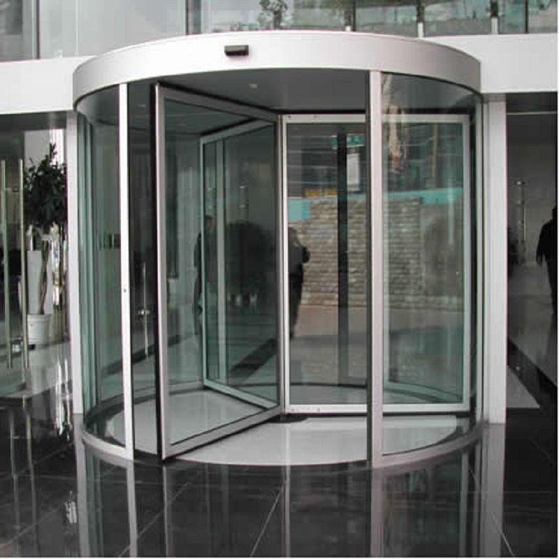 Give $500 cash coupon 3 wing aluminum revolving door