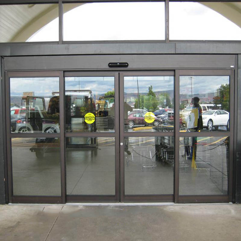commercial double glass entry doors